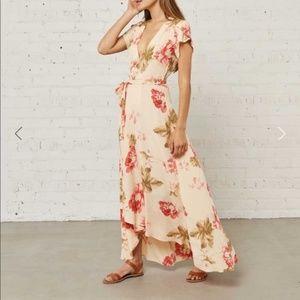 NWT Christy Dawn Autumn Rose Floral Maxi Dress S